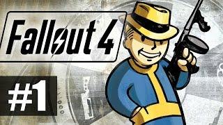 Прохождение Fallout 4 на русском - часть 1 - Вспышка