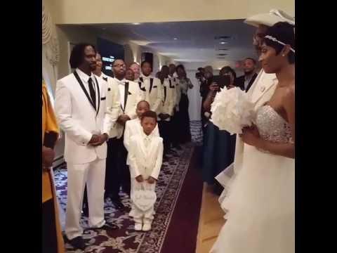 Taral Hicks singing at our wedding My Love  Patti Labelle