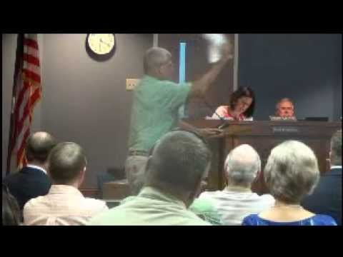 Cleveland County Commissioners meeting July 9, 2013