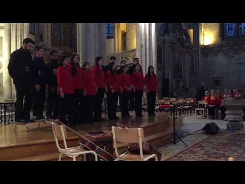 coro centenario concert à Toul  , Nancy voix du monde