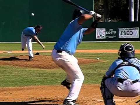 Ryan Lawless Slow Motion Pitching Mechanics (Fast Ball)