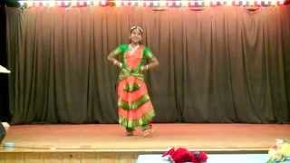 Iraiva Nee Oru Sangeetham - Bharatanatyam Dance By Jaffy Shinu Jeevaraj