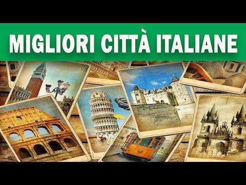 Le 20 migliori città dove vivere in Italia