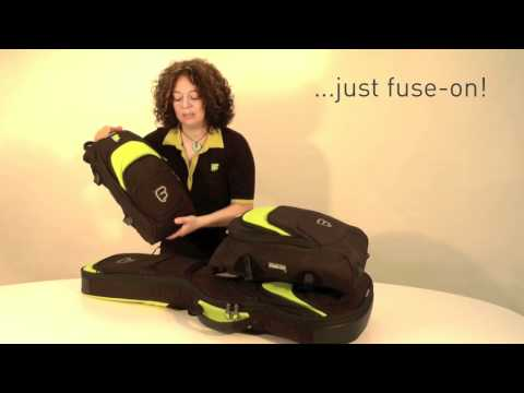 The perfect gig bag solution for every guitarist: Just fuse-on!