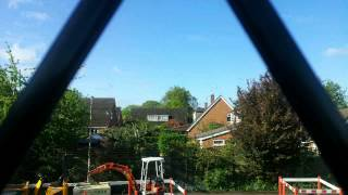 View from my window Galaxy Note and Lapse it pro time lapse set at 1 minute intervals