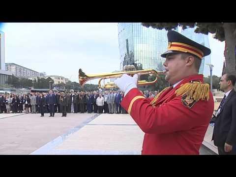 Azerbaycan'da Kafkas İslam Ordusu Unutulmadı