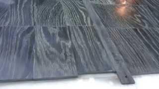 Черная древесина мореного дуба. Planks Of Black Material Bog Oak.