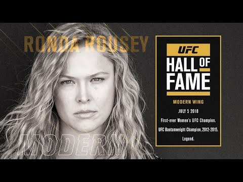 UFC Hall of Fame: Ronda Rousey