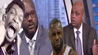 SHAQ WAS READY TO KNOCK BARKLEY ASS OUT! CHARLES BARKLEY RESPONDS TO LEBRON JAMES COMMENTS REACTION