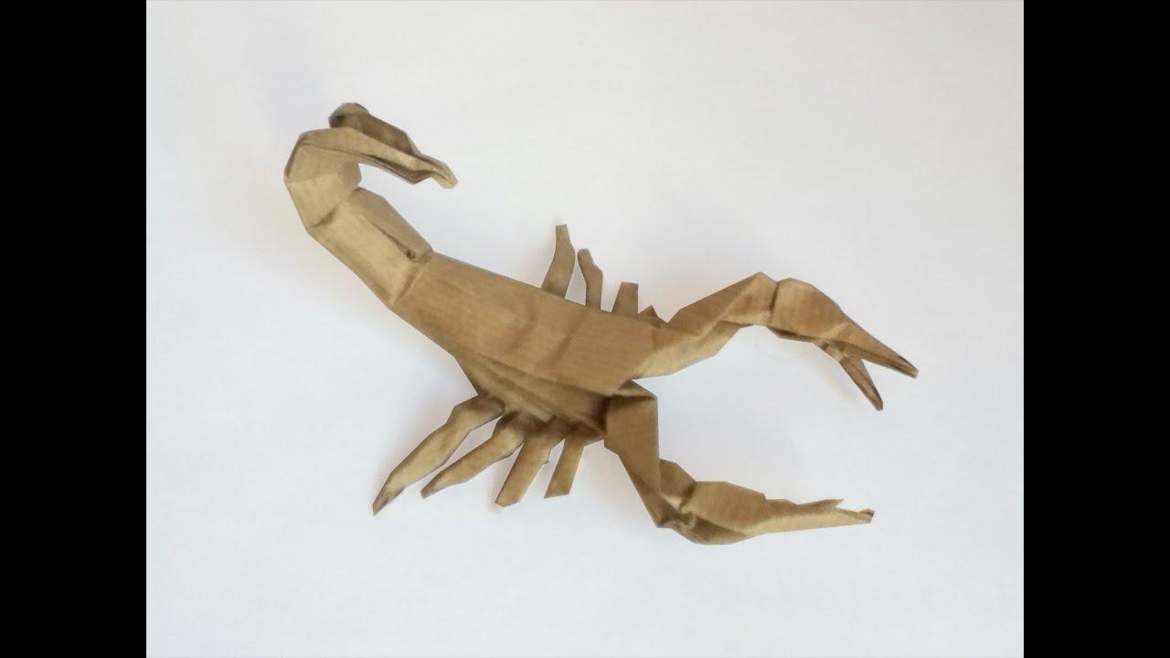 Origami Scorpion Robert J Lang