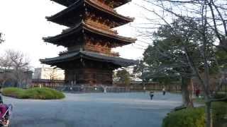 【4K test movie  】東寺 - 世界遺産 真言宗総本山 教王護国寺