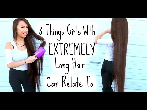 Thumbnail: 8 Things Girls With Extremely Long Hair Can Relate To