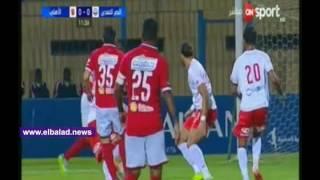 العارضة تحرم 'آجايي' من هدف التقدم للأهلي أمام النصر للتعدين.. فيديو