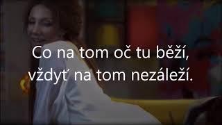 Jsem optimista, Olga Lounová, karaoke lyrics