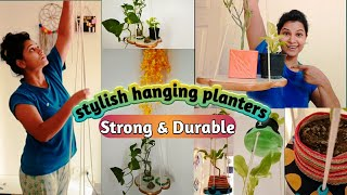 Stylish way to Decorate your Home|| Amazing Home decor ideas using hanging planters ||diy decor