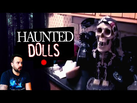 10 Moving Dolls Caught on Video : Child's Play & Annabelle
