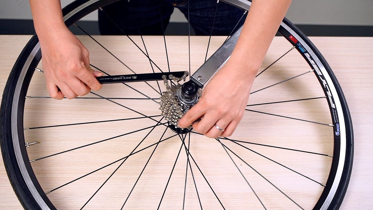 BIKEHAND Bicycle Bike Shimano Freewheel Cassette Install Remover Tool