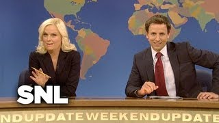 Weekend Update: Really With Seth and Amy on DADT - Saturday Night Live