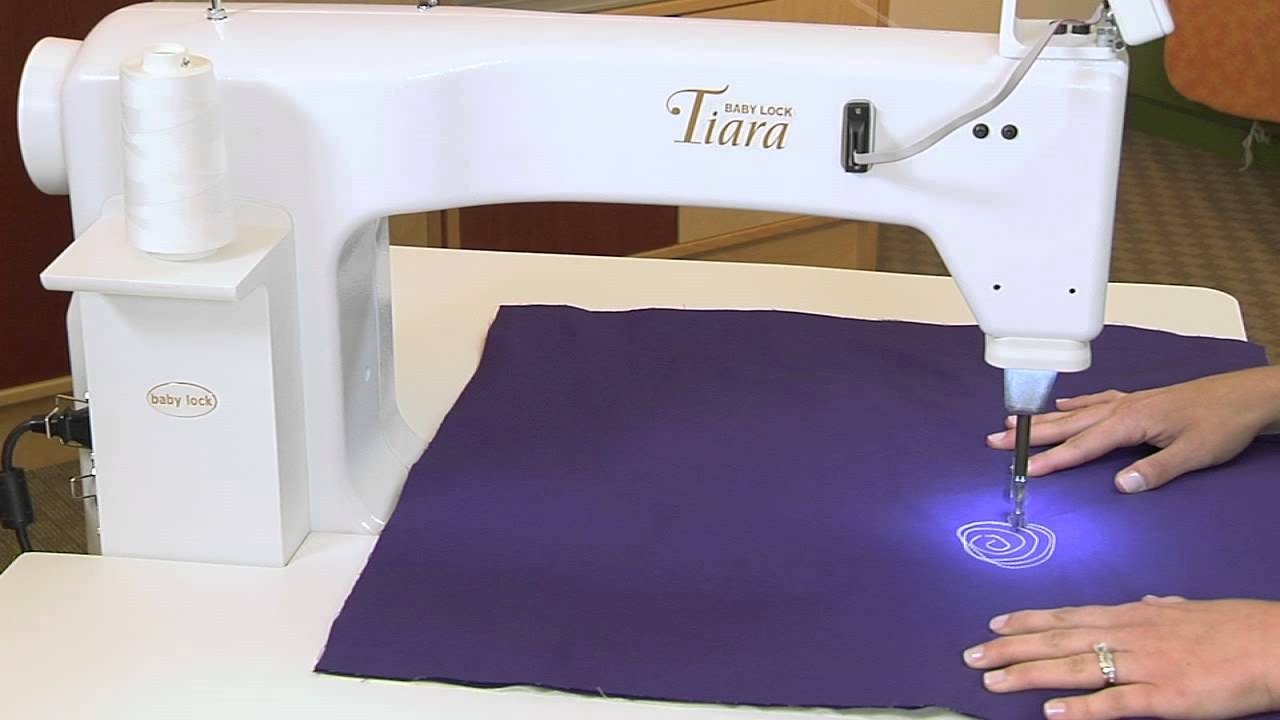 Tool School - Baby Lock Tiara - YouTube : tiara quilting machine - Adamdwight.com
