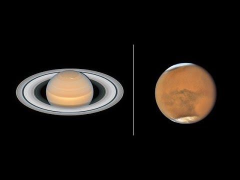 Hubblecast 112 Light: Mars and Saturn