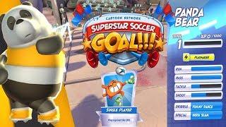 Cartoon Network Superstar Soccer Goal!!! Unlocked PAND BEAR Walkthrough Gameplay