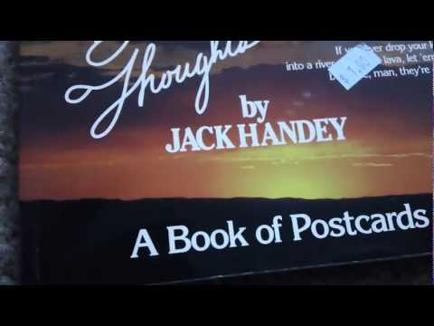 Thumbnail: JACK HANDEY SNL RARE book! Deep thoughts, exclusive quotes ME READING! saturday night live star HD
