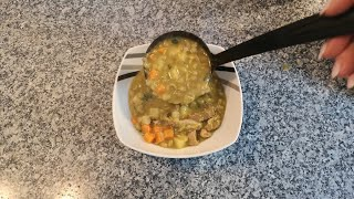 Гороховый суп.рецепт вкусного горохового супа.Erbsensuppe.Pea soup.Split Pea Soup