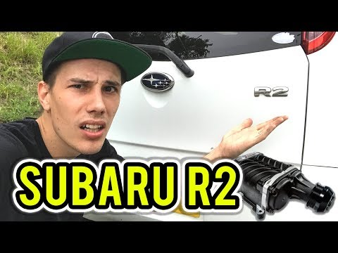 WHAT'S A SUBARU R2? Japanese Super Charged Kei Car