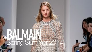 BALMAIN Spring 2014 Backstage ft Rosie Huntington Whiteley  | MODTV