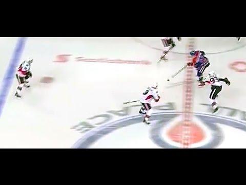 Petry slapshot- great setup by Nuge! Oilers vs Senators November 13, 2014