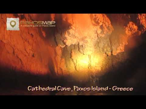 Paxos island - Hidden Cathedral Cave