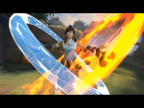 Avatar The Last Airbender Battle  Reveal Smite Gameplay And Trailer