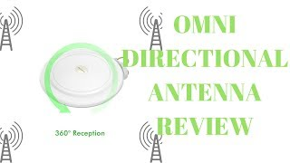 Amplified, Omnidirectional TV antenna review (Omni Directional FREE TV  iptv pbs ps5 directv network