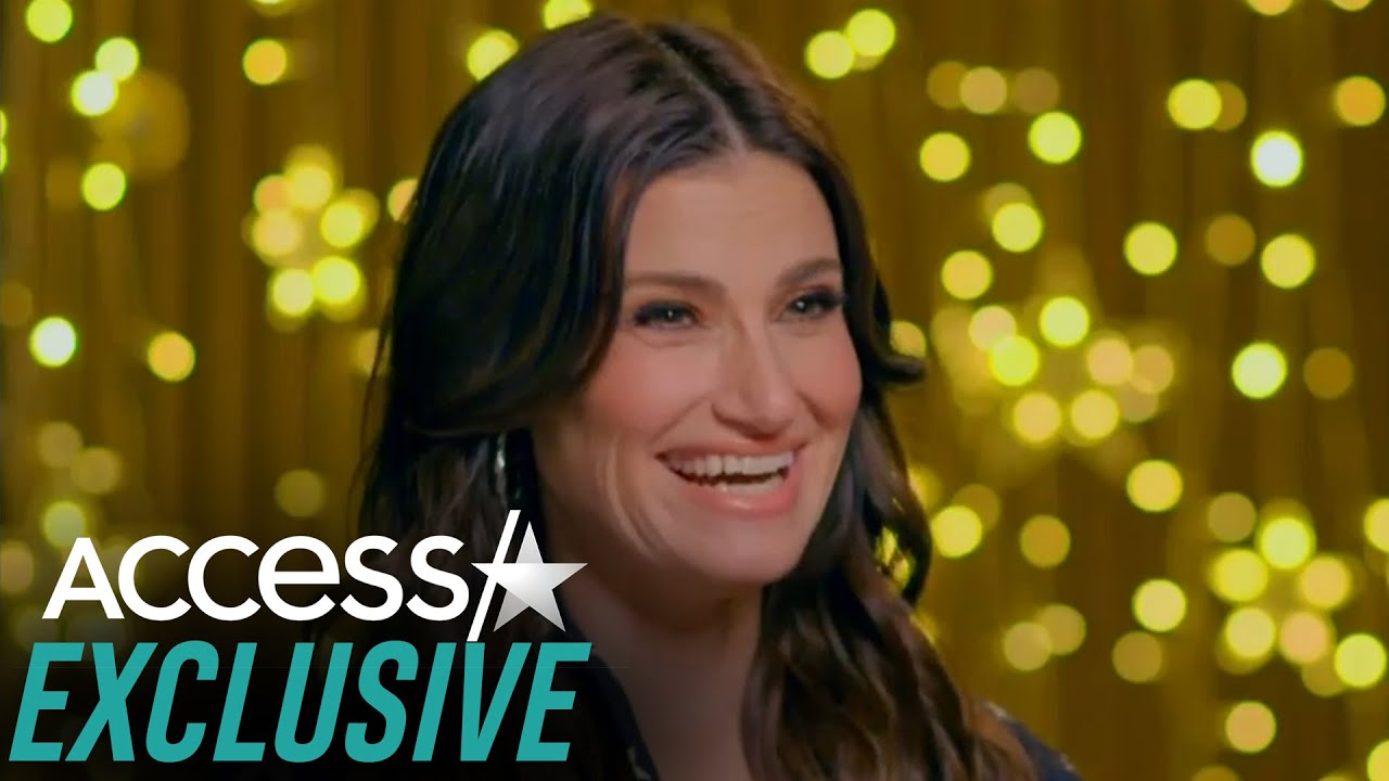 Idina Menzel Reveals Son Is 'Not A Fan' Of Her Singing But Thinks 'Frozen 2' Is 'Badass' (EXCLUSIVE)