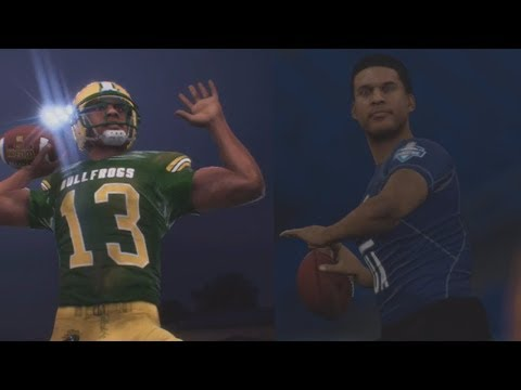 MADDEN 18 LONGSHOT Gameplay Walkthrough - NFL Combine & High School Game! #2