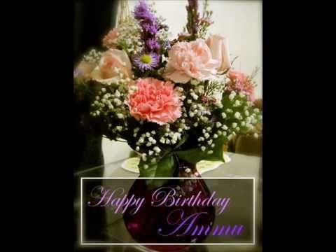 Happy Birthday Ammu Youtube
