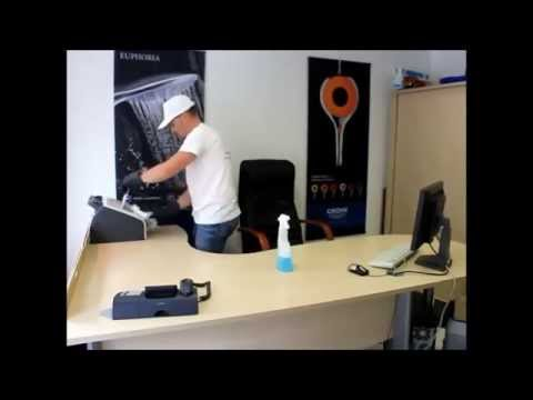 Nettoyer efficacement un bureau