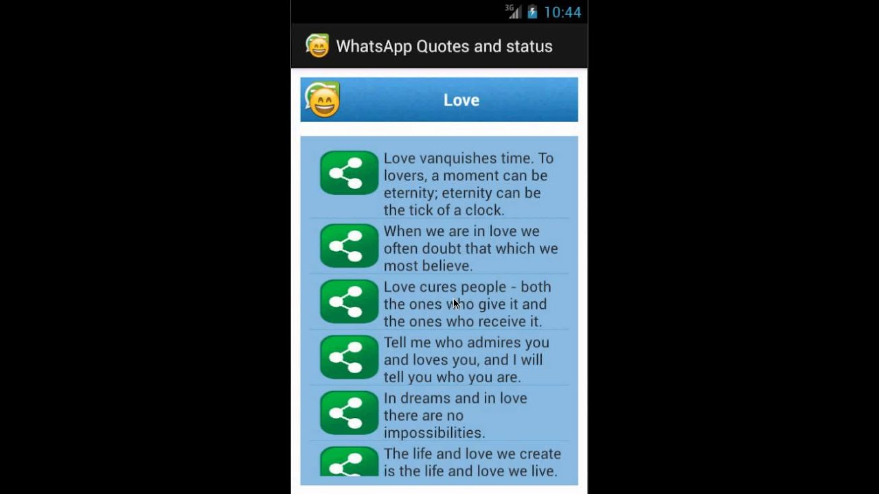 Quotes And Status Whatsapp