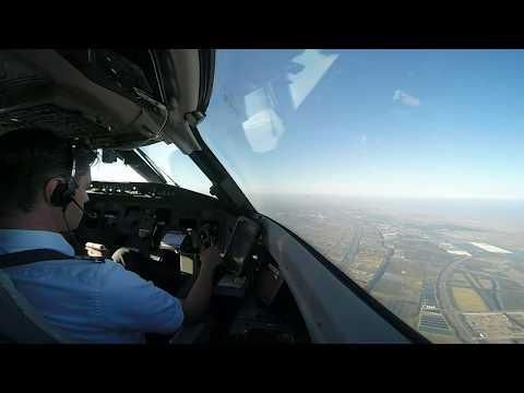 Airline Pilot Cockpit View(6): SHANGHAI / China