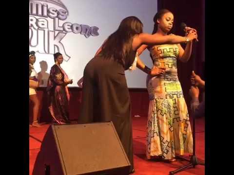 Miss Sierra Leone 2017 UK Pt2
