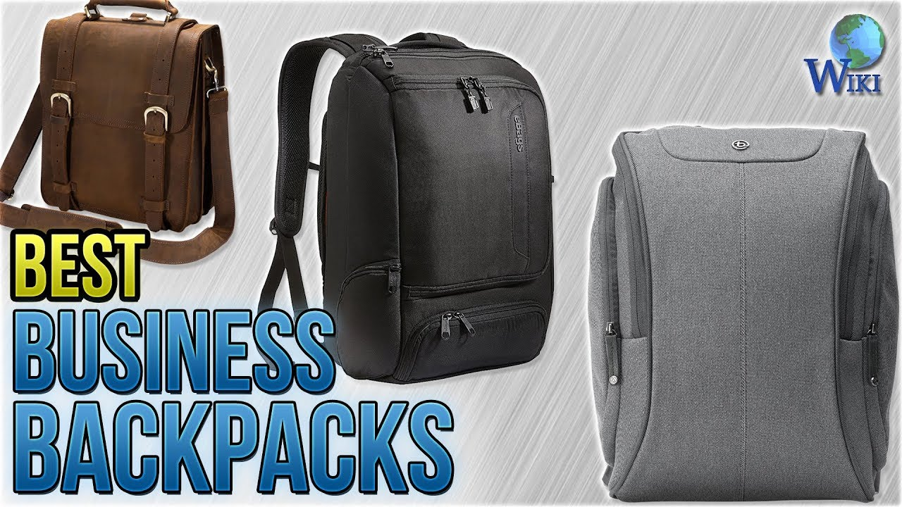 10 Best Business Backpacks 2018 - YouTube 598f50dd0e95b