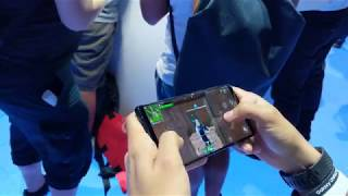 Fortnite on Android! With the new Galaxy Skin on Samsung Note 9