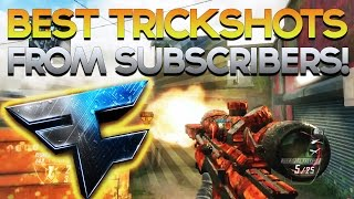 BEST Black Ops 2 / BO2 Trickshot & Sniper Montage from Subs! (Call of Duty / COD Montage)