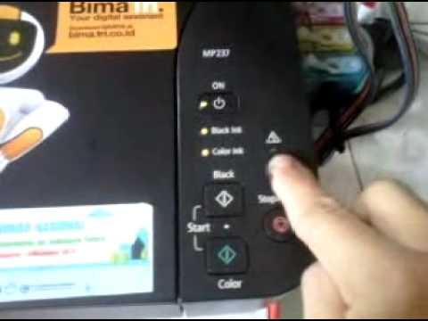 Memperbaiki Printer Canon IP2770 Lampu Berkedip 3 Kali 100% BERHASIL..