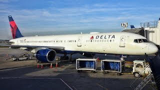 DELTA FIRST CLASS | DETROIT-SAN FRANCISCO | BOEING 757-200