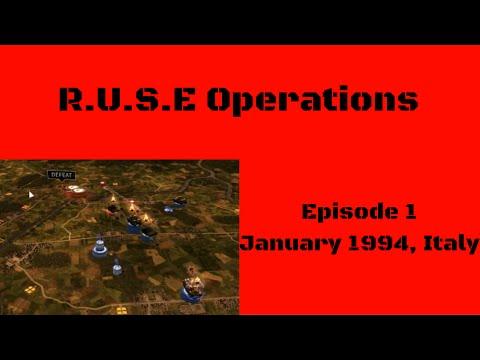R.U.S.E Operations Ep:1- January 1944, Italy