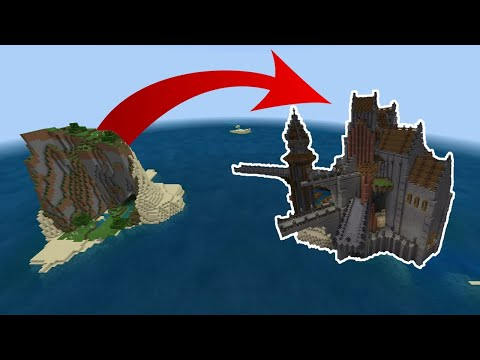 6 MINECRAFT YOUTUBERS TRANSFORM AN ISLAND!