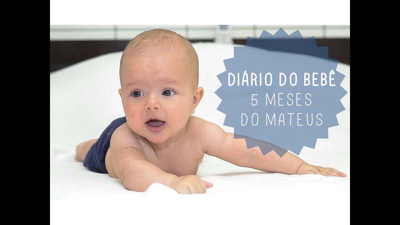 Di rio do beb 5 meses do mateus youtube - Cereales bebe 5 meses ...