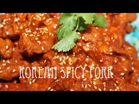 Korean Spicy Pork Korean Bbq Pork