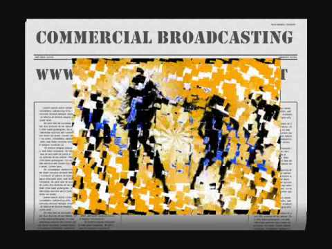 commercial broadcasting